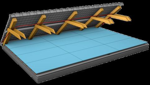 Préparation raccordement électricité dans les combles et le grenier