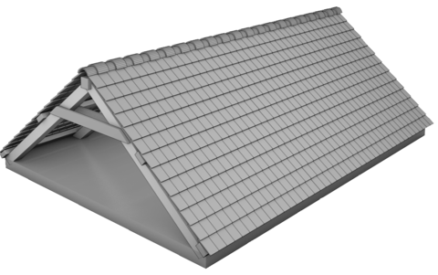 Poutraison Modification pente de toit