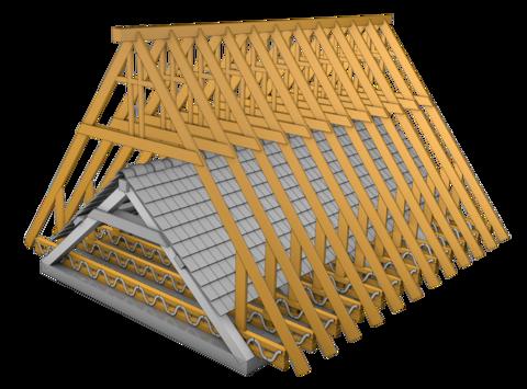 Isolation aménagement Modification pente de toit