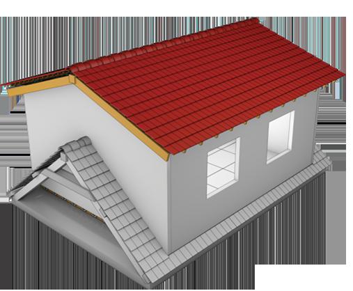 Mise en place des murs et de la couverture