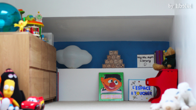 chambre d'enfant - aménagements combles