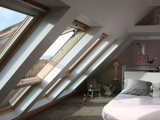Les chambres - rénovation combles