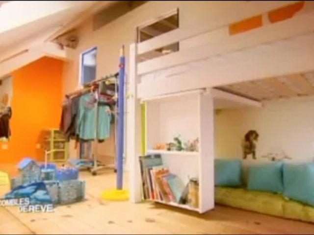 appartement des enfants - isolation des combles