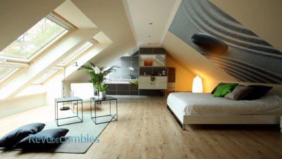 am nager une suite parentale sous les combles r ve de combles. Black Bedroom Furniture Sets. Home Design Ideas