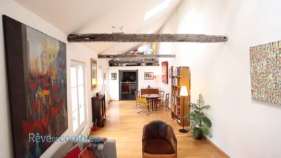 paris artiste combles appartement cachettes velux