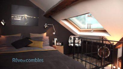 Perché sur les toits - Paris VELUX Aménagement de combles