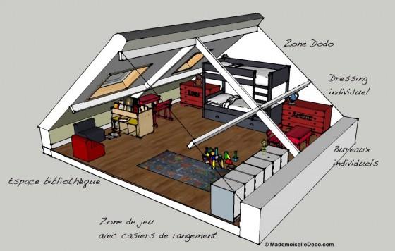 j 39 installe ma tribu sous mes combles r ve de combles. Black Bedroom Furniture Sets. Home Design Ideas