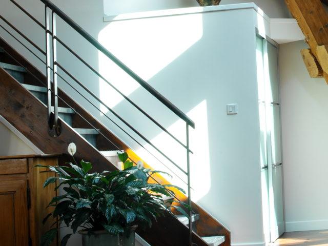 Accéder aux combles - escalier dans les combles