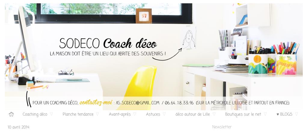 Blog SoDeco