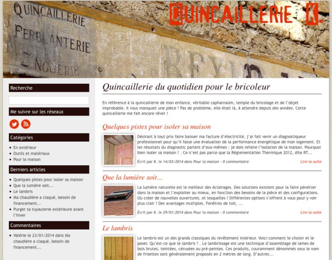Blog Quincaillerie-k