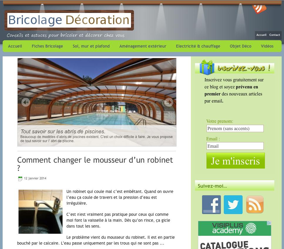 Blog Bricolage Décoration