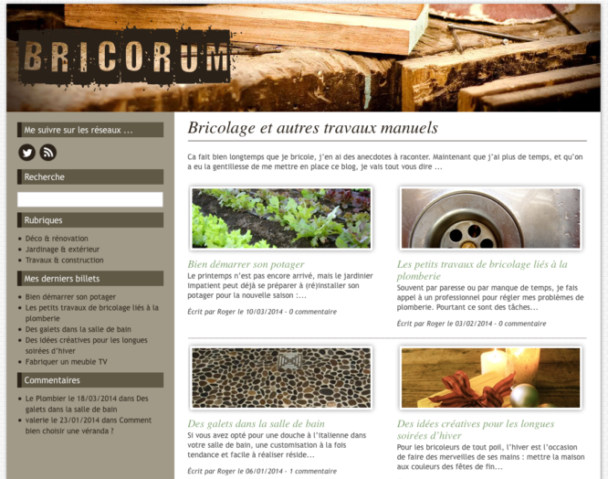 Blog Bricorum