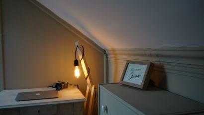 lampe ajustable - décoration combles