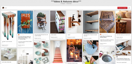 Pinterest deco de chris - décorations combles