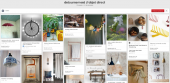 Pinterest Detournement d objets direct