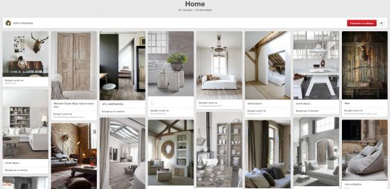 Pinterest Home de Céline Hayesdes