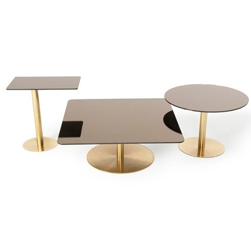 Tables basses Flash square chez Made in Design