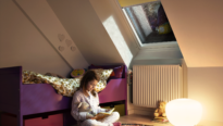 Chambre enfant chauffage combles