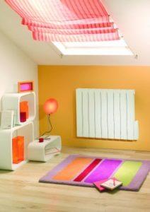 radiateur espace combles