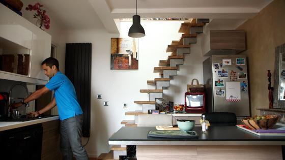 Duplex Sara - Escaliers japonais - Après1