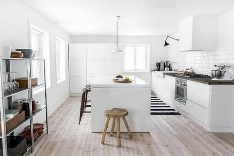 Le blanc dans la cuisine
