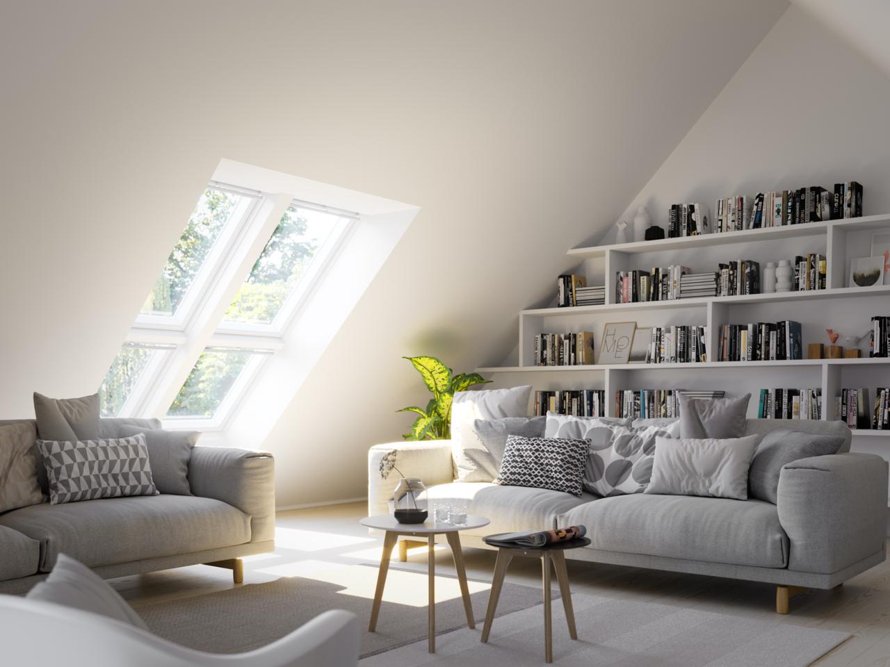 comment optimiser le rangement sous les combles r ve de combles. Black Bedroom Furniture Sets. Home Design Ideas