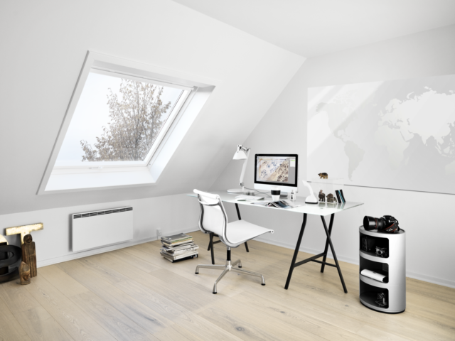 bien am nager un bureau dans les combles r ve de combles. Black Bedroom Furniture Sets. Home Design Ideas