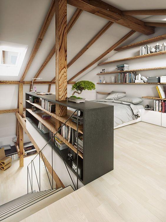 petite surface les meubles parfaits pour optimiser l 39 espace r ve de combles. Black Bedroom Furniture Sets. Home Design Ideas