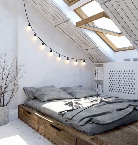 Un lit coffre