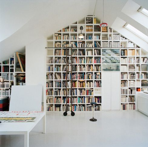 bibliotheque-bureau-combles