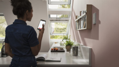 Solution domotique pour maison intelligente VELUX ACTIVE with NETATMO
