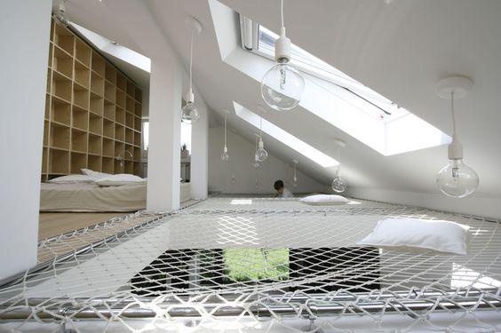 Filets D 39 Habitation Sous Les Toits Sublimez Votre Pi Ce R Ve De Combles