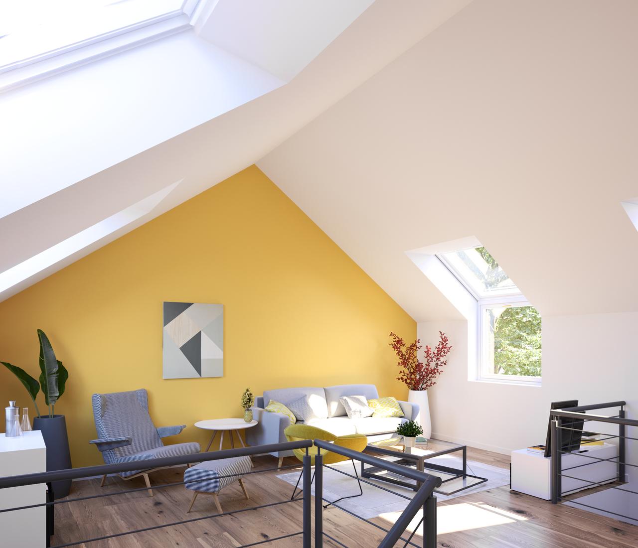 quelle couleur pour quelle lumi re r ve de combles. Black Bedroom Furniture Sets. Home Design Ideas
