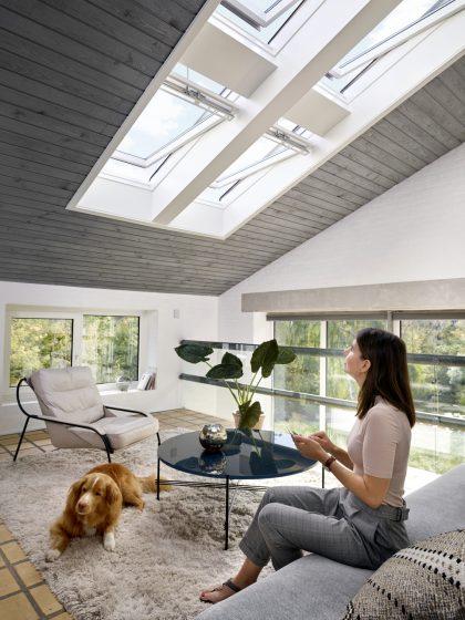 Fenêtre de toit motorisée
