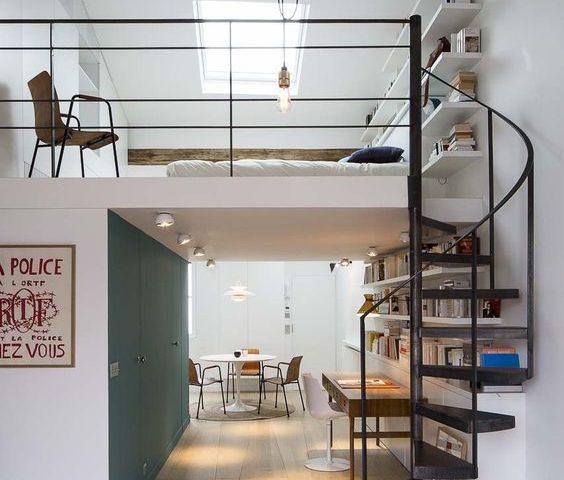 comment transformer des combles perdus en mezzanine r ve de combles. Black Bedroom Furniture Sets. Home Design Ideas