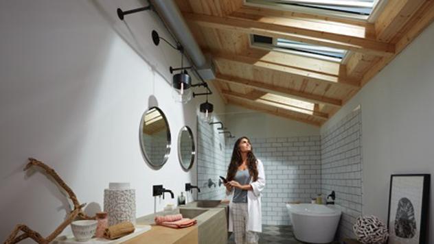 salle de bains dans les combles comment bien g rer la circulation de l 39 air r ve de combles. Black Bedroom Furniture Sets. Home Design Ideas