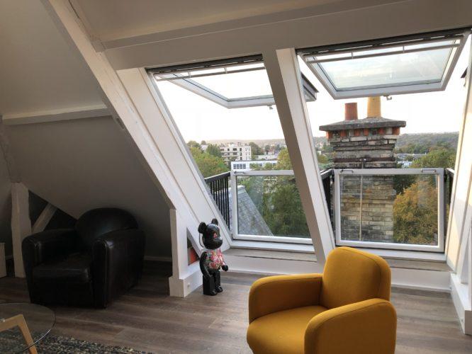 amenagement grenier velux fenêtre balcon combles Meudon