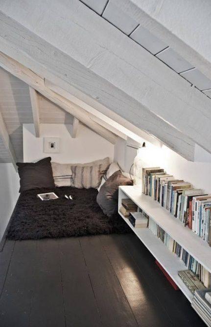 aménager-bibliothèque-sous-combles