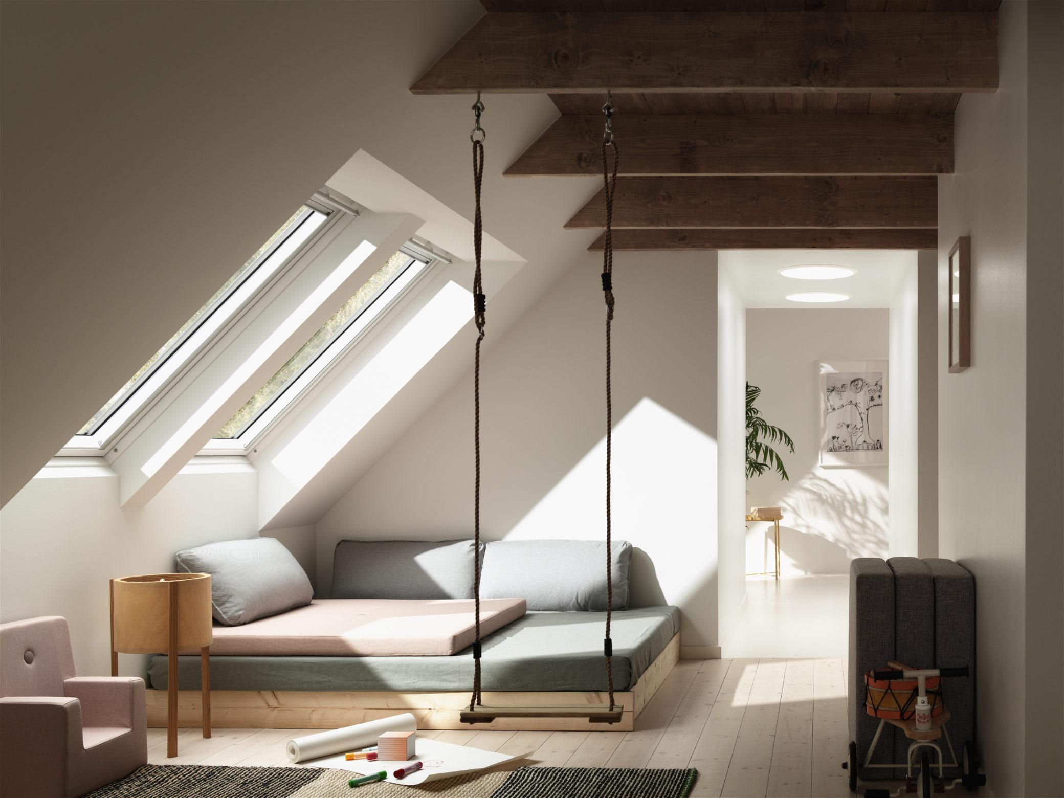 les-plus-belles-chambres-denfants-déco-balancoire
