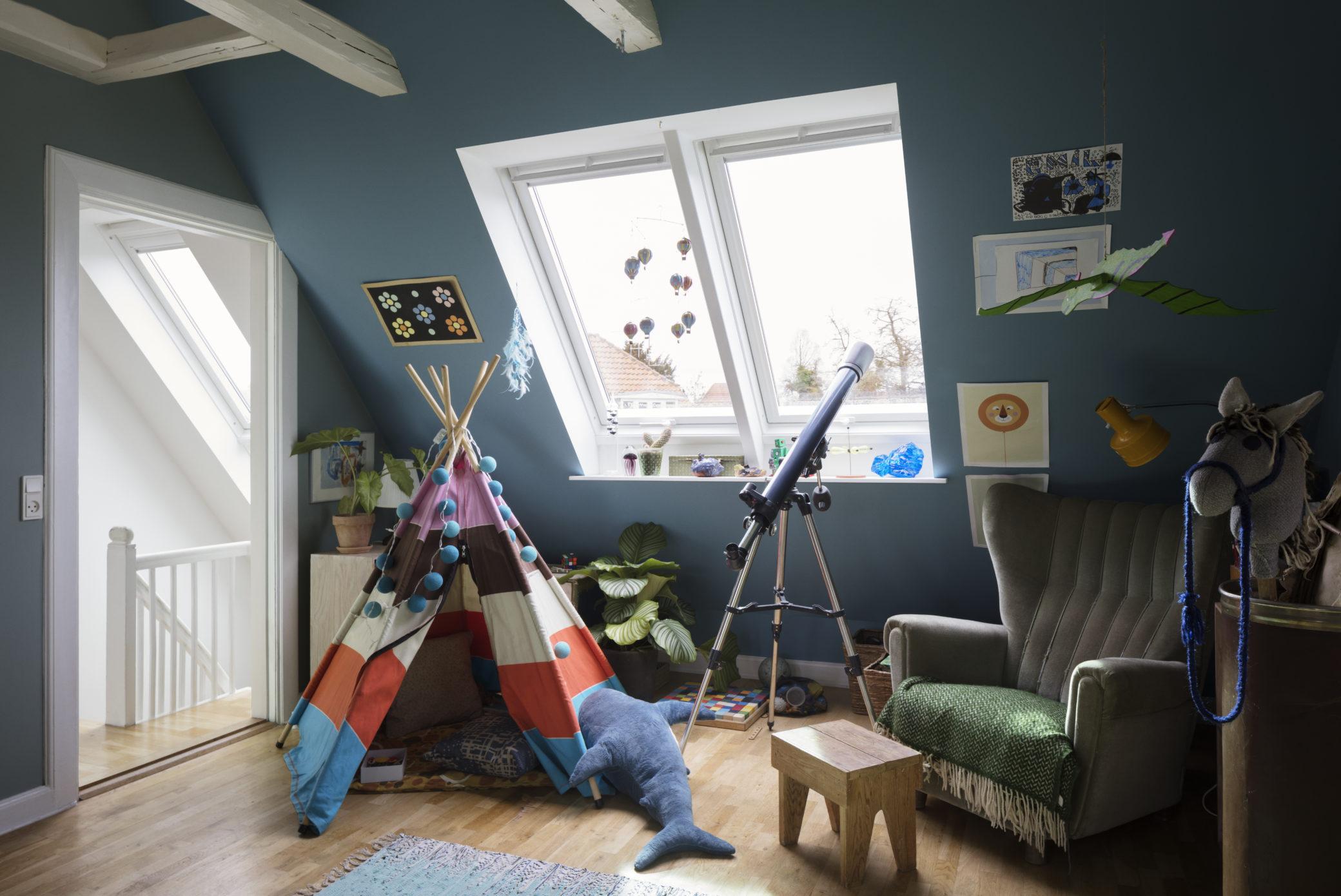 Faire Une Belle Chambre les plus belles chambres d'enfant sous les combles - rêve de