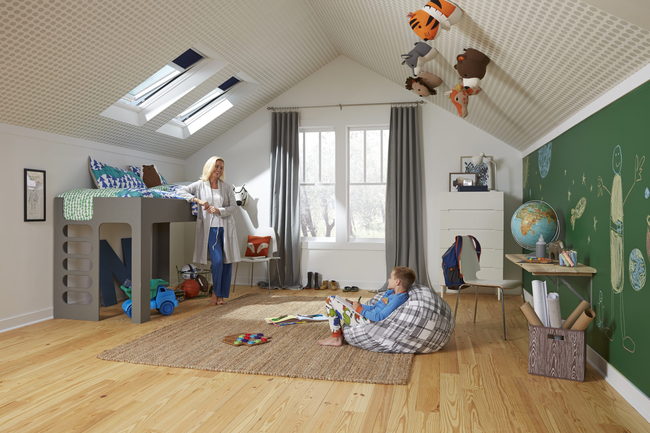 Les plus belles chambres d\'enfant sous les combles - Rêve de Combles