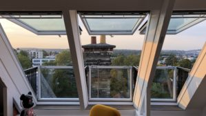 velux fenêtre balcon combles Meudon aménagement grenier