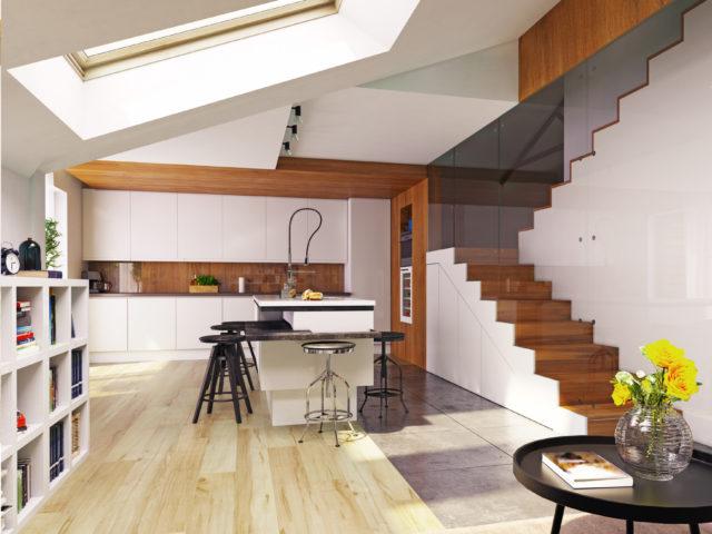 Escalier de combles : combiner sécurité et discrétion - Rêve ...