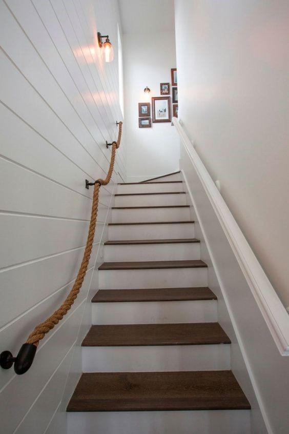 Rampe escalier combles